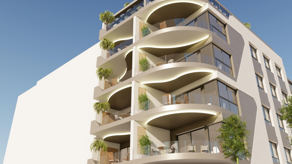 1 Bedroom apartment first line Los Locos beach, Torrevieja