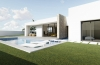 Detached  one level villa with 3 bedrooms in Jávea